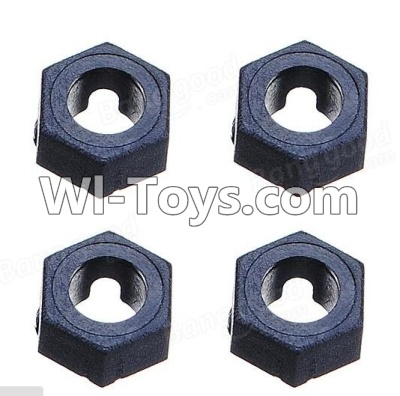 Wltoys A969 RC Car Parts-Hexagonal round seatParts-4pcs,Wltoys A969 Parts