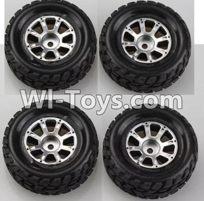 Wltoys A969 RC Car Wheel Parts-official-(2pcs Left and 2pcs Right Wheel),Wltoys A969 Parts