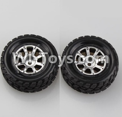 Wltoys A969 RC Car Parts-Left Wheel Parts-2pcs-Official,Wltoys A969 Parts