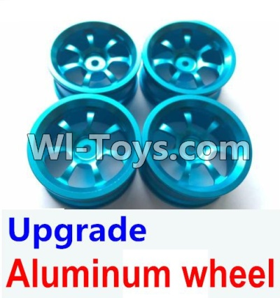 Wltoys A969 Upgrade Parts-Upgrade Aluminum wheel Parts(4pcs-Not include the Tire leather),Wltoys A969 Parts