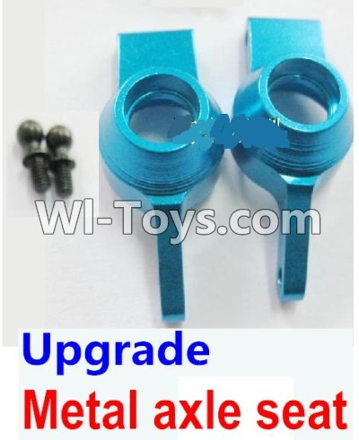 Wltoys A969 Upgrade Parts-Upgrade Metal axle seat Parts-Blue,Wltoys A969 Parts