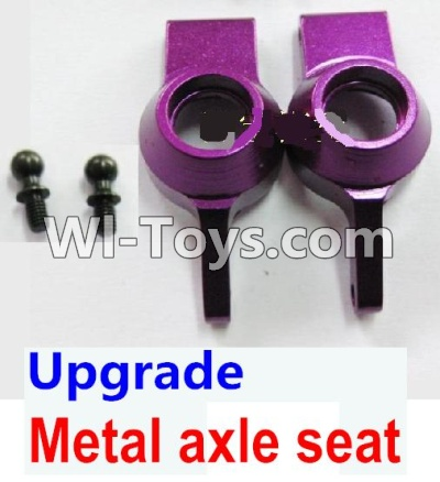 Wltoys A969 Upgrade Parts-Upgrade Metal axle seat Parts-Purple,Wltoys A969 Parts