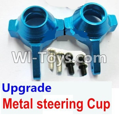 Wltoys A969 Upgrade Parts-Upgrade Metal steering Cup Parts-Blue,Wltoys A969 Parts