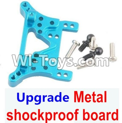 Wltoys A969 Upgrade Parts-Upgrade Metal shockproof board Parts-Blue,Wltoys A969 Parts