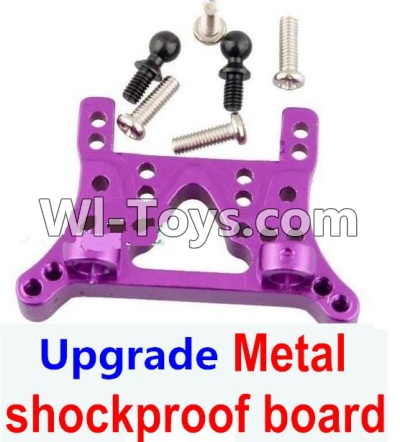 Wltoys A969 Upgrade Parts-Upgrade Metal shockproof board-Gold,Wltoys A969 Parts
