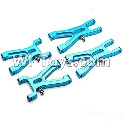 Wltoys A969 Upgrade Parts-Upgrade Metal Front Swing arm(2pcs) & Upgrade Metal Rear Swing arm Parts