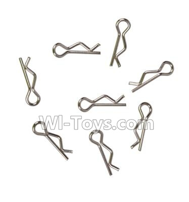Wltoys A969 RC Car R-Clips Pins Parts(8pcs),Wltoys A969 Parts
