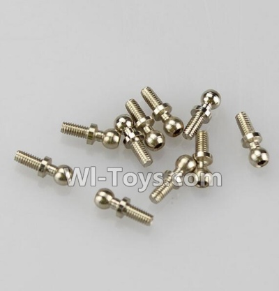 Wltoys A969 RC Car Parts-Ball-shape screws Parts(10.8mmX4mm)-8pcs,Wltoys A969 Parts