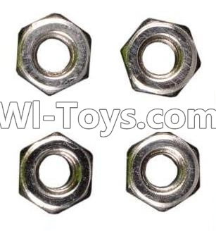 Wltoys A969 RC Car Parts-M3 Anti-loose Screw Parts-nut Parts-4pcs,Wltoys A969 Parts