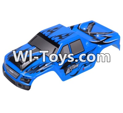 Wltoys A979-B A979B Car Parts-Body Shell Cover Parts,Car Canopy,Shell cover-Blue,Wltoys A979B A979-B Parts