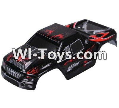 Wltoys A979-B A979B Car Parts-Body Shell Cover Parts,Car Canopy,Shell cover-Black,Wltoys A979B A979-B Parts