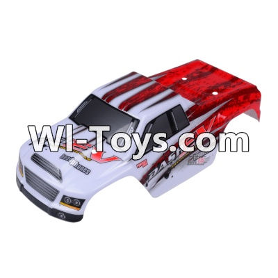 Wltoys A979-B A979B Car Parts-Body Shell Cover Parts,Car Canopy,Shell cover-Red,Wltoys A979B A979-B Parts
