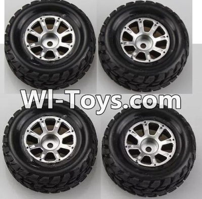 Wltoys A979-B A979B Car Parts-Wheel Parts(2pcs Left and 2pcs Right Wheel)-A969-01 Official,Wltoys A979B A979-B Parts
