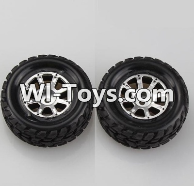 Wltoys A979-B A979B Car Parts-Left Wheel(2pcs)-A969-01 Official,Wltoys A979B A979-B Parts