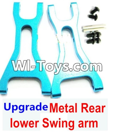 Wltoys A979-B A979B Car Upgrade Parts-Upgrade Metal Rear lower Swing arm,Lower Suspension Arm(2pcs)-Blue,Wltoys A979B A979-B Parts