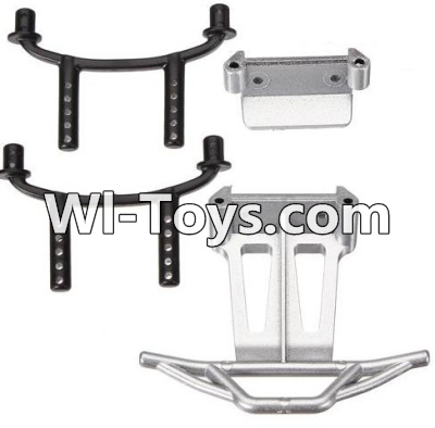 Wltoys A979-B A979B Car Parts-Car shell bracket(2pcs) & Bull bars(2pcs) & Front and anti-Collision frame,Wltoys A979B A979-B Parts