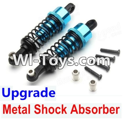 Wltoys A979-B A979B Car Upgrade Parts-Upgrade Metal Shock Absorber Parts(2pcs)-Blue,Wltoys A979B A979-B Parts