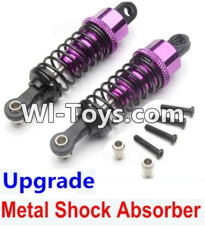 Wltoys A979-B A979B Car Upgrade Parts-Upgrade Metal Shock Absorber Parts(2pcs)-Purple,Wltoys A979B A979-B Parts