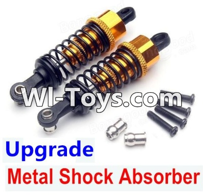 Wltoys A979-B A979B Car Upgrade Parts-Upgrade Metal Shock Absorber Parts(2pcs)-Yellow,Wltoys A979B A979-B Parts