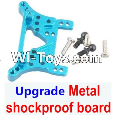 Wltoys A979-B A979B Car Upgrade Parts-Upgrade Metal Front or Rear shockproof board-Blue,Wltoys A979B A979-B Parts
