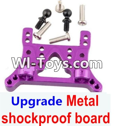 Wltoys A979-B A979B Car Upgrade Parts-Upgrade Metal Front or Rear shockproof board-Purple,Wltoys A979B A979-B Parts