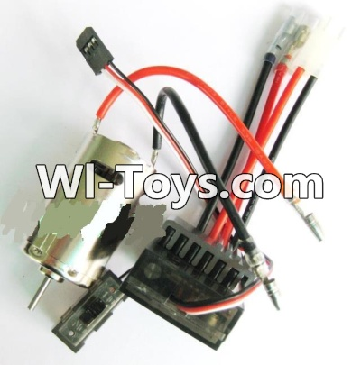 Wltoys A979-B A979B Car Upgrade Parts-Upgrade 390 Brush motor & Upgrade Brush Motor ESC,Wltoys A979B A979-B Parts