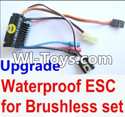 Wltoys A979-B A979B Car Upgrade Parts-Upgrade waterproof ESC for the Brushless set,Wltoys A979B A979-B Parts
