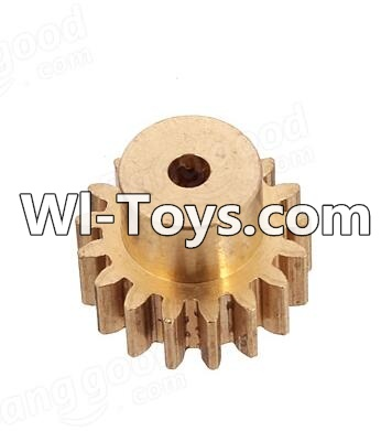 Wltoys A979-B A979B Car Parts-Copper motor Gear(1pcs)-0.7 Modulus-27 Teeth,Wltoys A979B A979-B Parts
