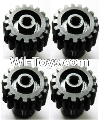 Wltoys A979-B A979B Car Upgrade Parts-Upgrade Steel motor Gear(4pcs)-0.7 Modulus-Black-27 Teeth,Wltoys A979B A979-B Parts
