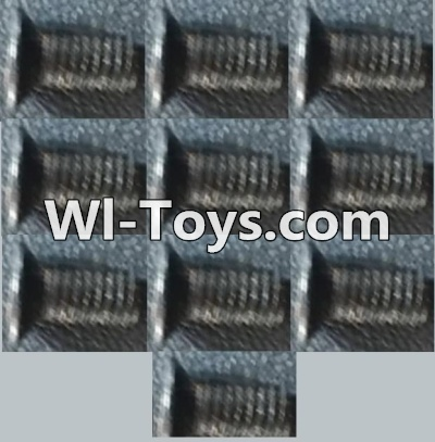 Wltoys A979-B-16 Countersunk head inner hexagon Machine Screw-M3X8(10PCS),Wltoys A979B A979-B Parts