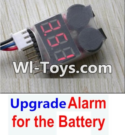 Wltoys A979-B A979B Car Upgrade Parts-Upgrade Alarm for the Battery,Can test whether your battery has enouth power,Wltoys A979B A979-B Parts