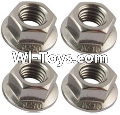 Wltoys A979-B A979B Car Parts-M3 Flange nuts(4PCS),Wltoys A979B A979-B Parts
