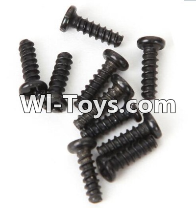 Wltoys A979-B A979B Car Parts-Round head screws Parts-M2.5X8(10PCS)-A949-40,Wltoys A979B A979-B Parts