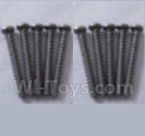 Wltoys A979-B A979B Car Parts-Round head self-tapping screws Parts-M2X16(10PCS)-A949-41,Wltoys A979B A979-B Parts