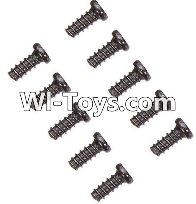 Wltoys A979-B A979B Car Parts-Countersunk head self-tapping screws Parts-M2X6(10PCS)-A949-47,Wltoys A979B A979-B Parts