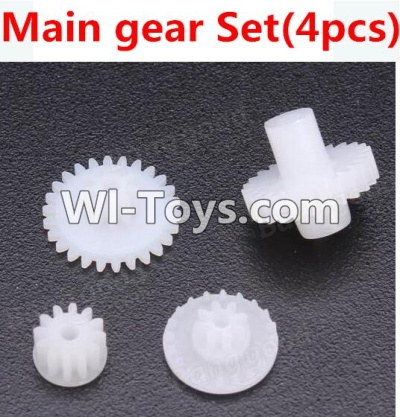 Wltoys A989 RC Car Parts-Gear Set Parts-4pcs,Wltoys A989 Parts