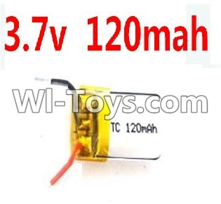 Wltoys A989 RC Car Battery Parts-3.7v 120mah battery