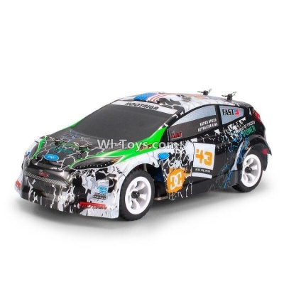 Wltoys A989 RC Car Parts-BNF Car-Green(Only the whole A989 Car,Include the Battery,Not include the Transmitter,USB Charger)