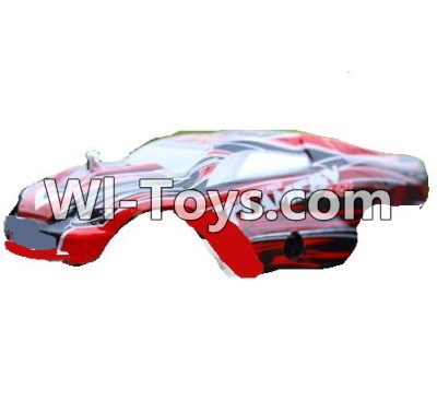 Wltoys A999 RC Car Parts-Body Shell cover Parts-Red,Wltoys A999 Parts