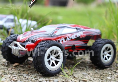 Wltoys A999 RC Car Parts-BNF-Red(Only the whole A999 Car,Include the Battery,Not include the Transmitter,USB Charger)