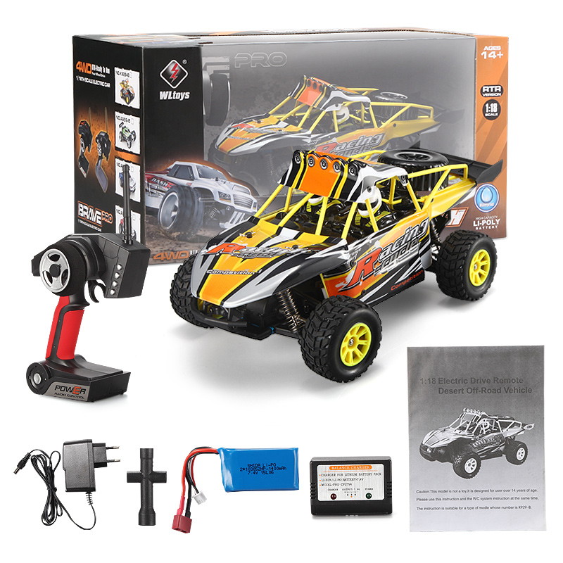 Wltoys K929-B RC Car Wltoys K929-B Car Parts-High speed 1/18 1:18 Full-scale rc racing ca2.4G K929-B rc racing car,On Road Drift Racing Truck Car