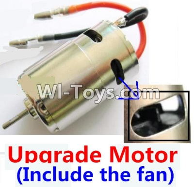 Wltoys K929 Upgrade Parts-Upgrade Brush motor(Include the Fan,can strengthen the cooling function),Wltoys K929 Parts