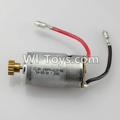 Wltoys K929 Motor Parts-Main brush motor with copper gear,Wltoys K929 Parts