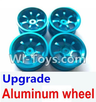 Wltoys K929 Upgrade Parts-Upgrade Aluminum wheel Parts-(4pcs-Not include the Tire leather)