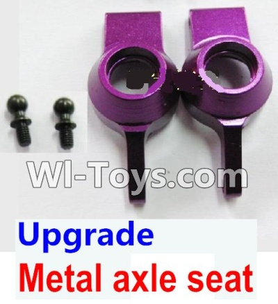 Wltoys K929 Upgrade Parts-Upgrade Metal axle seat-Purple,Wltoys K929 Parts