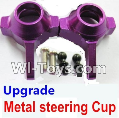 Wltoys K929 Upgrade Parts-Upgrade Metal steering Cup-Purple,Wltoys K929 Parts