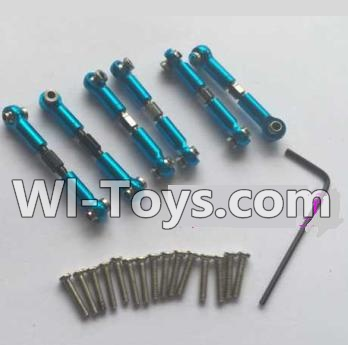 Wltoys K929 Upgrade Parts-Upgrade Metal Connect buckle,Trolley(7pcs),Wltoys K929 Parts