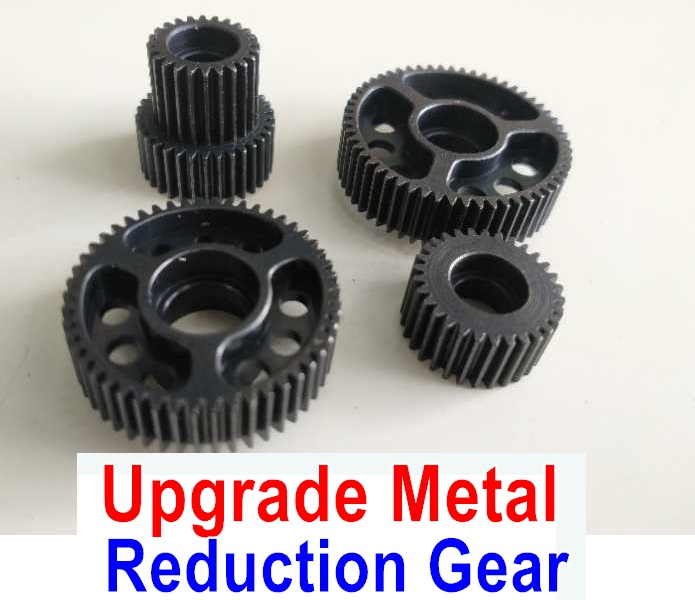 Wltoys 10428-B Upgrade Metal Reduction Gear Set(Total 4pcs)