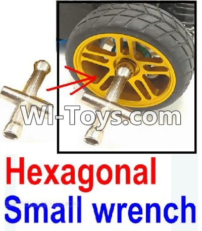 Wltoys 10428-C RC Car Parts-Hexagonal small wrench(Can be used for M2, M2.5, M3, M4 nut specifications)