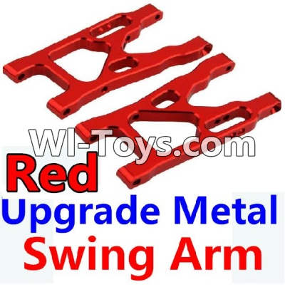 Wltoys 10428-C Upgrade Parts-Upgrade Metal Swing Arm Parts-Red-2pcs,Wltoys 10428-C Parts